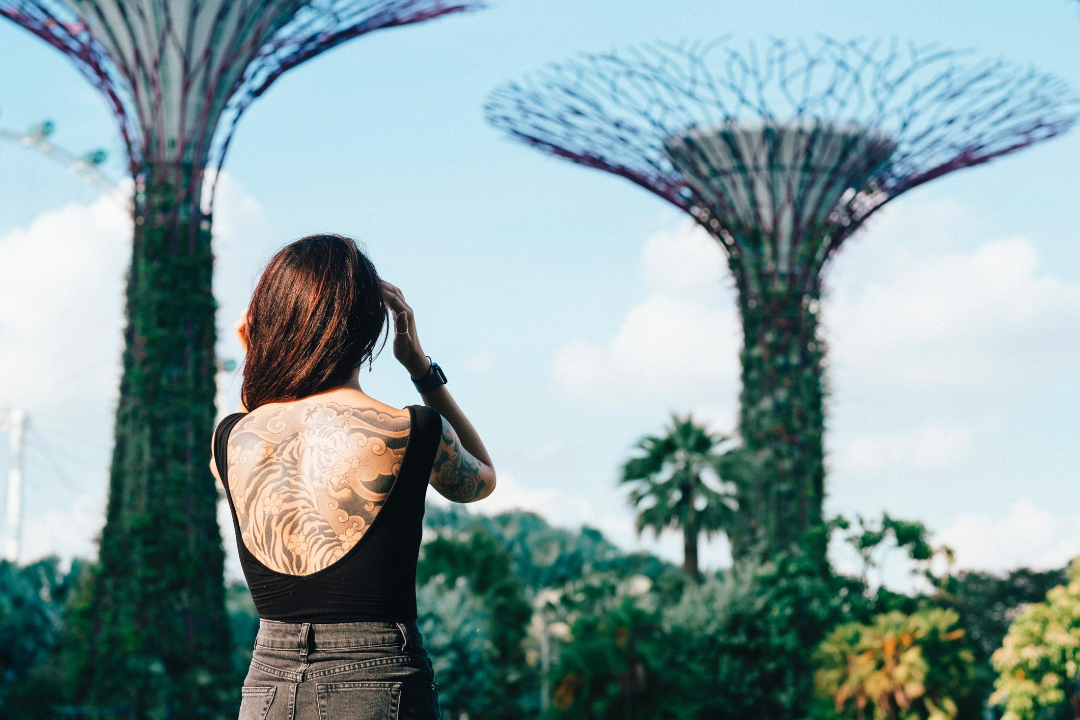 Singapore Facts Tatoo Gardens By The Bay
