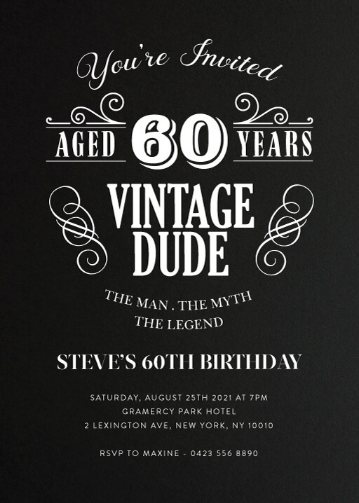 Funny Birthday Invitations Designs By Creatives Printed By Paperlust