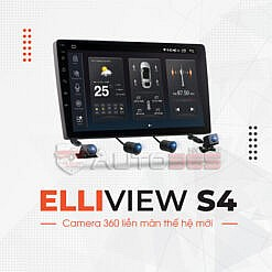 Camera360 liền màn Android Elliview S4