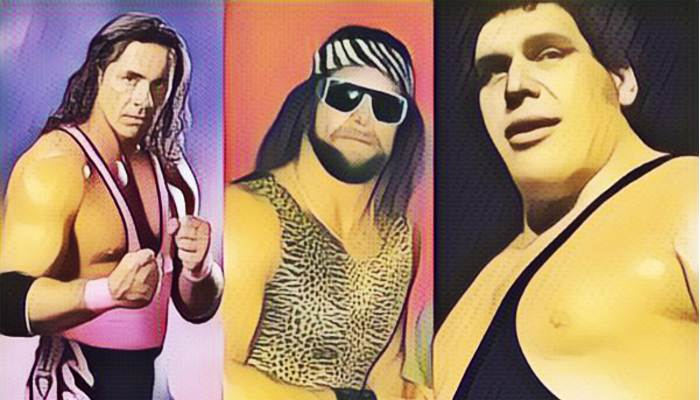 WWF Wrestlers 80s and 90s in The World