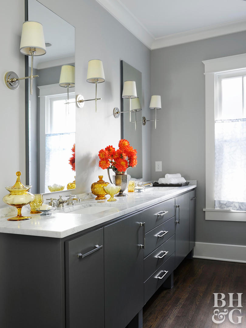 Best Colors For Grey Bathroom