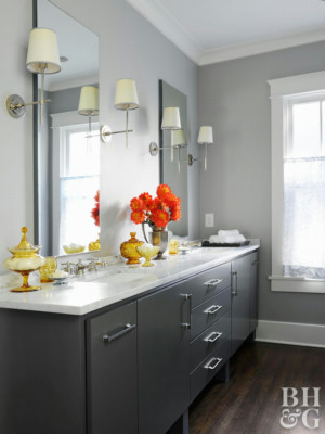 Good Gray Color For Bathroom