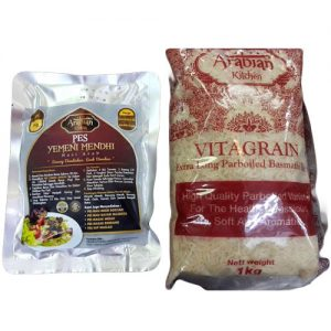 Arabian Kitchen Set Nasi Arab Yemeni Mendhi 1kg