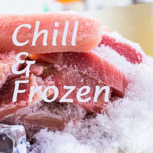 chill and frozen