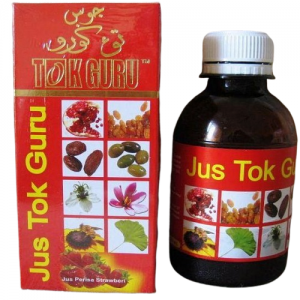jus tok guru strawberry