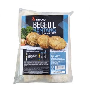 NZ Frozen Begedel (Kentang) 12Biji