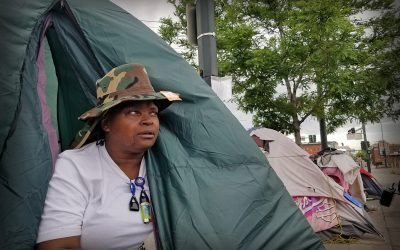 In Denver Sweeps Of Homeless Camps Run Counter To COVID Guidance And Pile On Health Risks