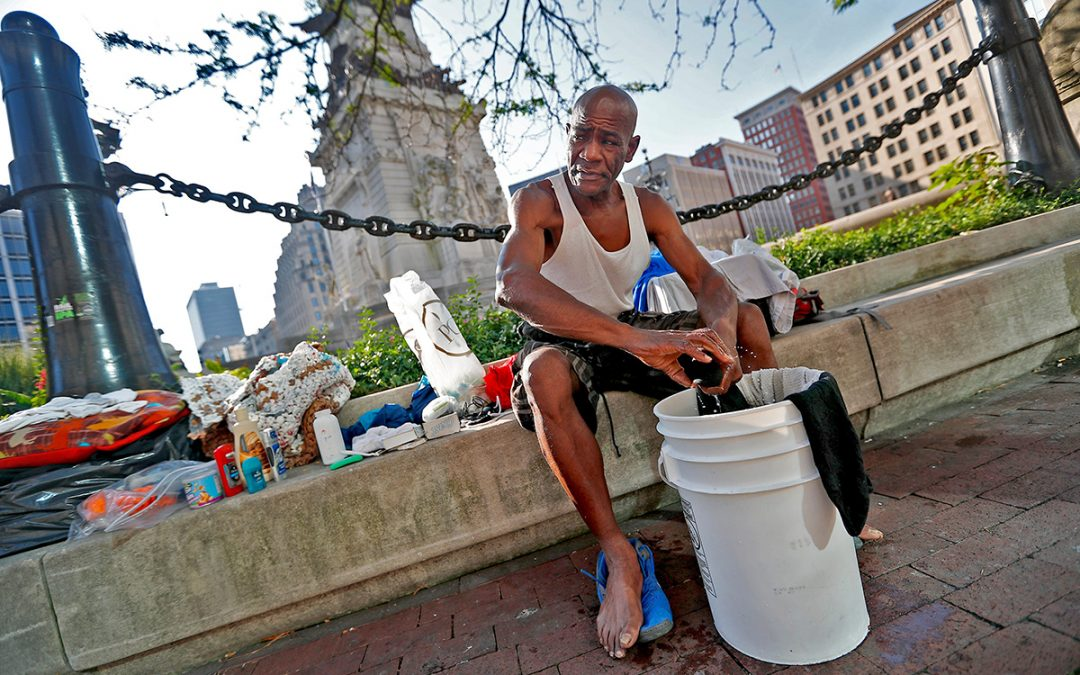 How The City's Homeless Are Coping With COVID-19 in Indianapolis