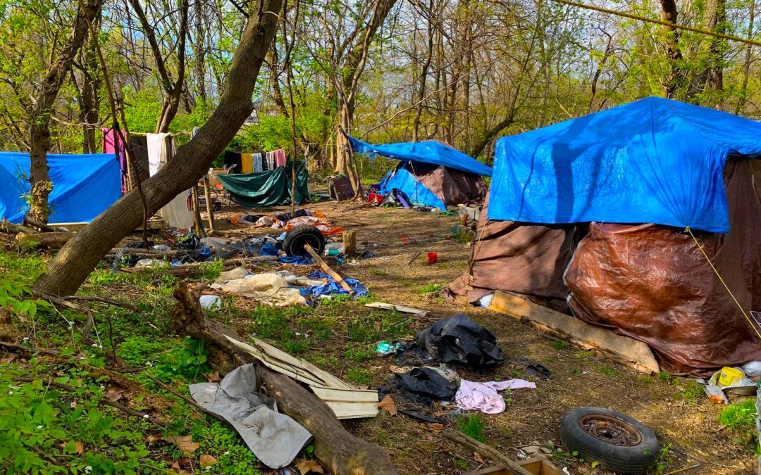 Eviction Coming to Residents of Pennsylvania, Allentown's 'Tent City' Homeless Encampment