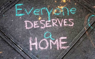 Chalk Drawings Go Round The Corner In Support Of Homeless At Manhattan's Lucerne Hotel