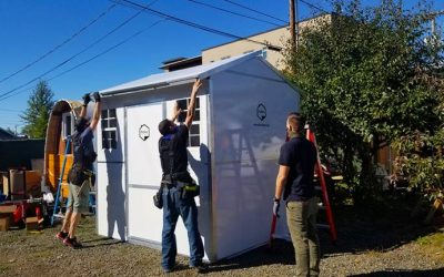 In Portland Oregon A Company's Prefab Homes Are Helping Homeless