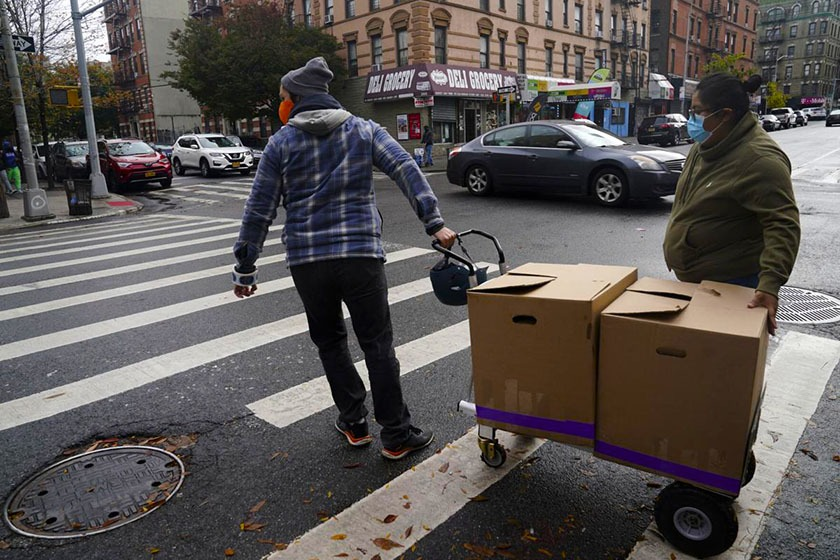South Bronx restaurant turns into soup kitchen to help poor