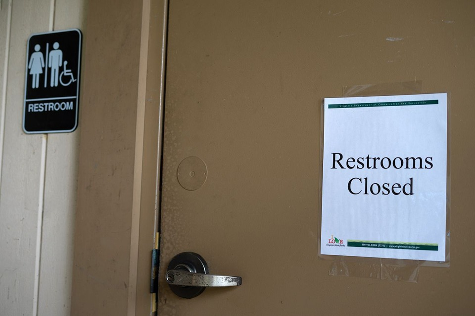 With libraries, public parks, and other municipal facilities shutting their bathroom because of COVID-19 many retail stores doing the same.