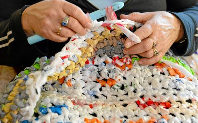 Women Inspired To Make Plastic Bags Into Mats For Homeless People; Find Out How You Can Too