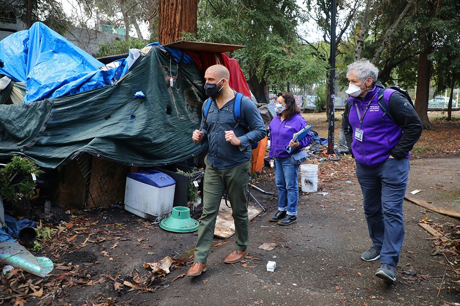 In Oakland, California Isolation Helps Homeless Population Escape Worst of Virus