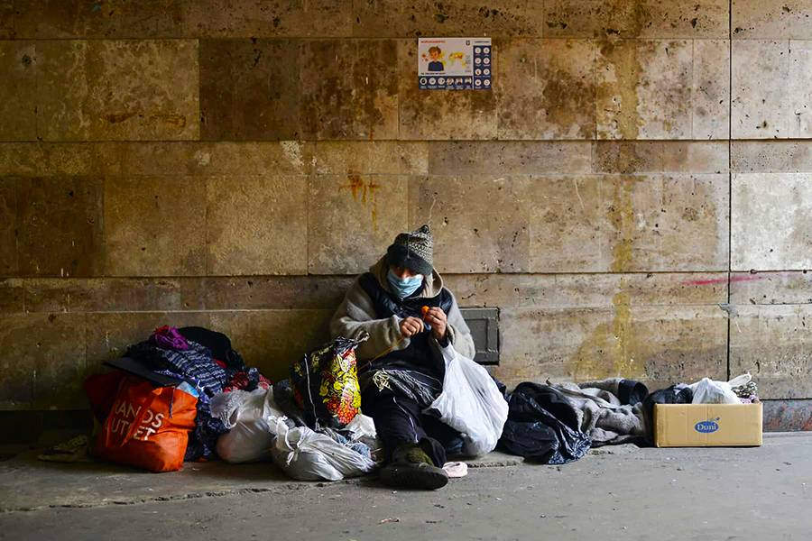 Winter is always a difficult time for homeless people in New York City