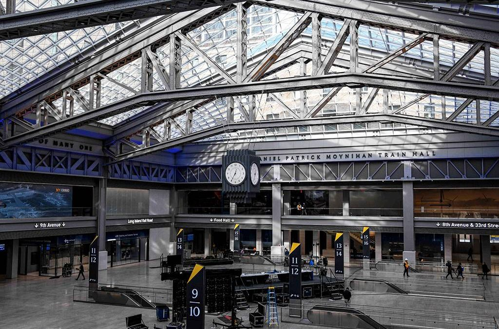 Homeless Feel Unwelcome at Gleaming New Moynihan Train Hall as They Stick to Penn Station