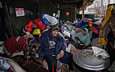 Roughing it under the FDR Drive: How one homeless couple lives amid trying times