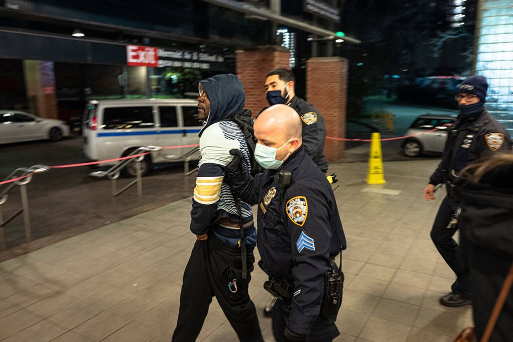 Since last spring, when New York City subways were ordered shut from 1 a.m. to 5 a.m. for disinfection, many homeless people have lost their safe haven. Jonah Markowitz for The New York Times