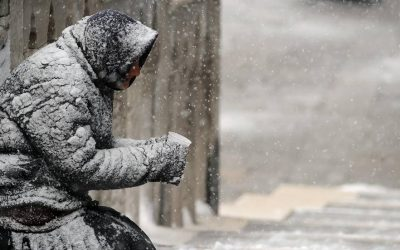 A Nor'Easter, A Pandemic And No Place To Live