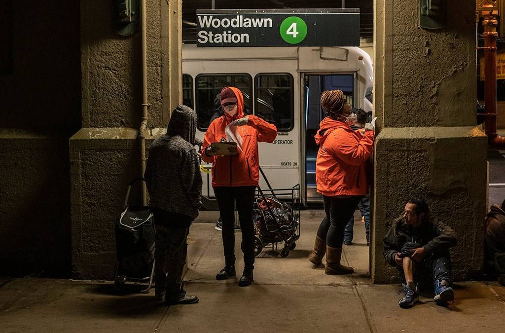 Advocates for Homeless Sue N.Y.C. Subway System Over Covid Rules