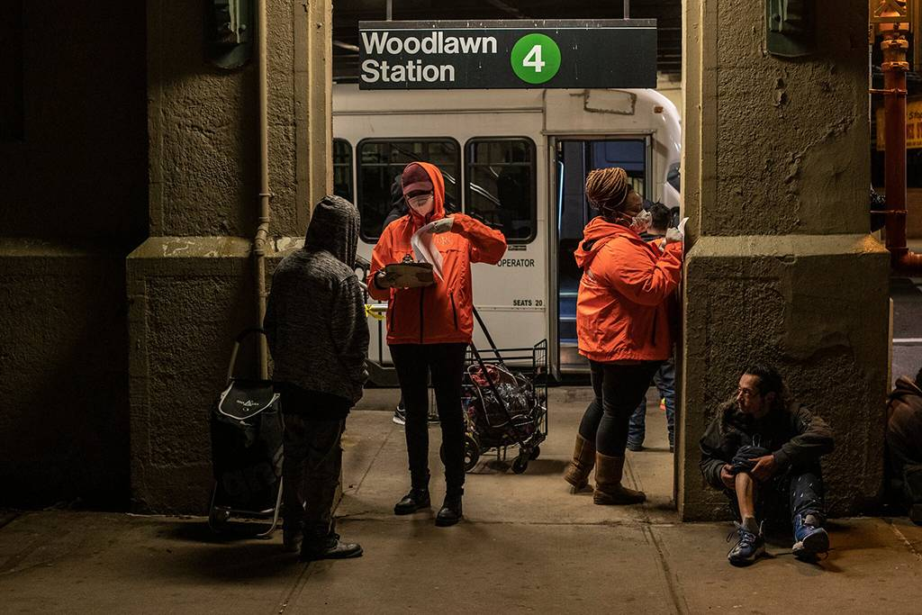 The rules prohibit people from staying in a subway station for more than an hour or after a train is taken out of service, and ban carts more than 30 inches long or wide. They were enacted on an emergency basis last April and made permanent in September.
