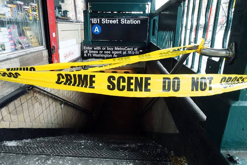 subway crime in new york is at an all time high