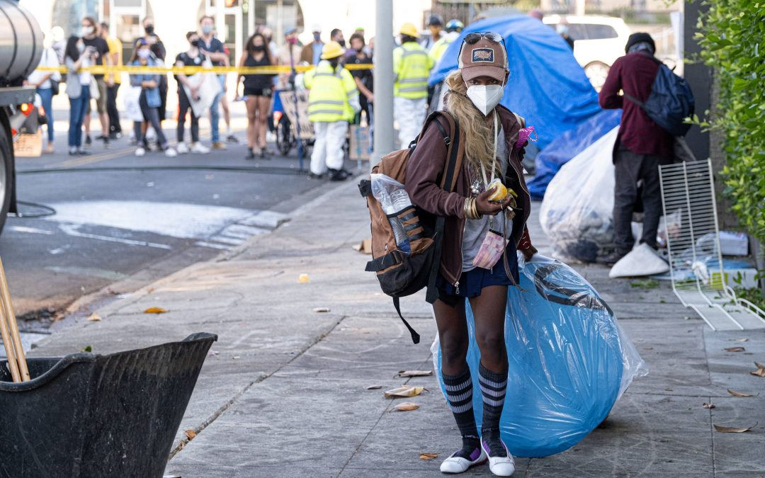 California Town Pays Homeless With COVID Cash To Reward Camp Clean-ups