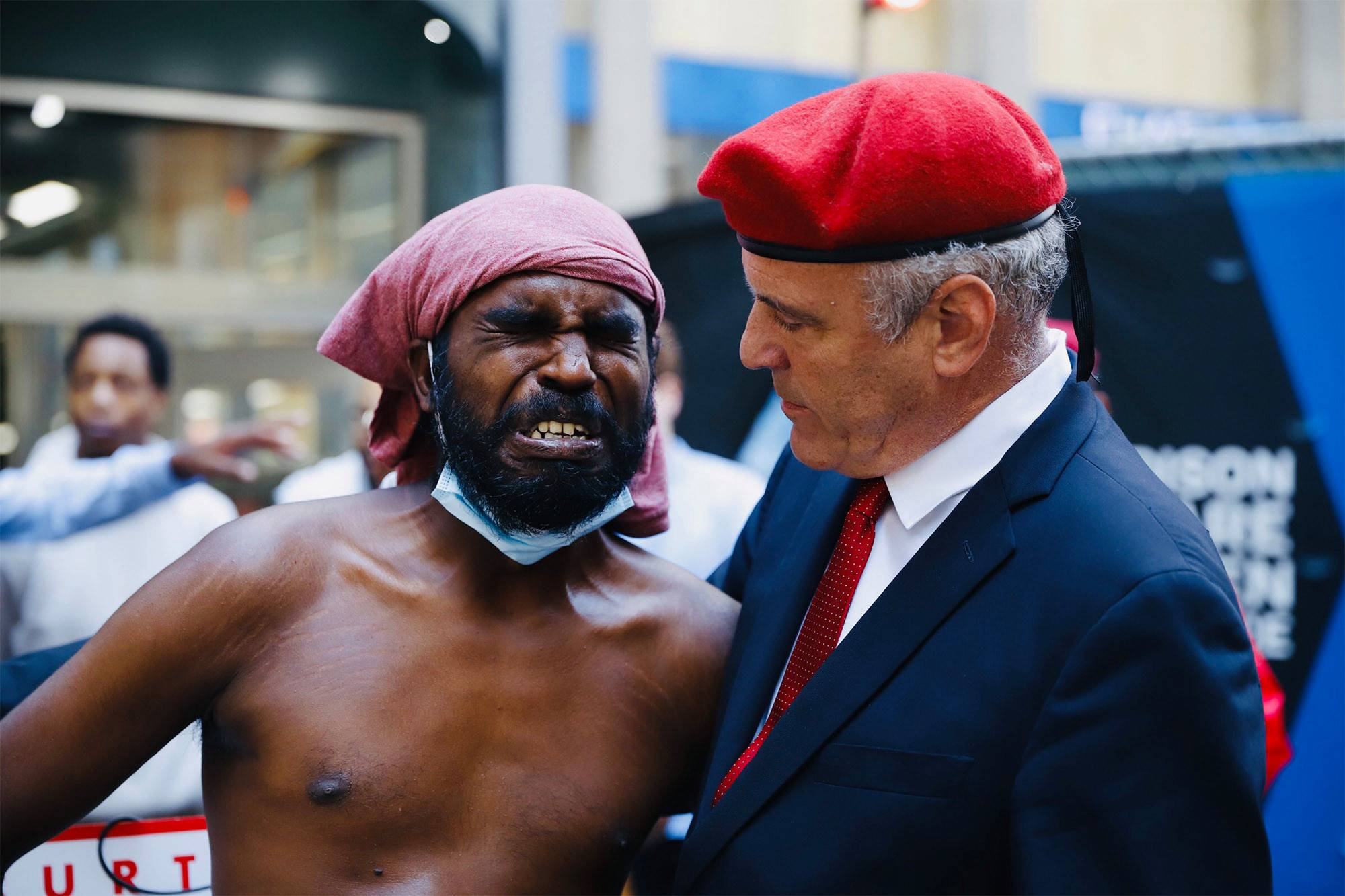 """Curtis Sliwa called the situation a """"humanitarian crisis"""" and """"Dante's Inferno."""""""