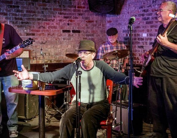Papa J: A 70-year-old True Bluesman, who almost died twice, still hits the stage every night