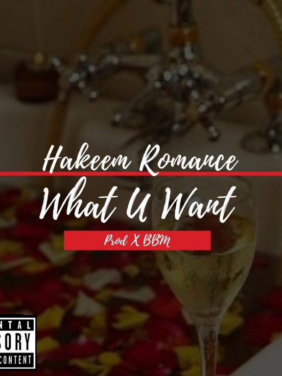 New Singer/Song Writer Hakeem Romance's Record Available Now!