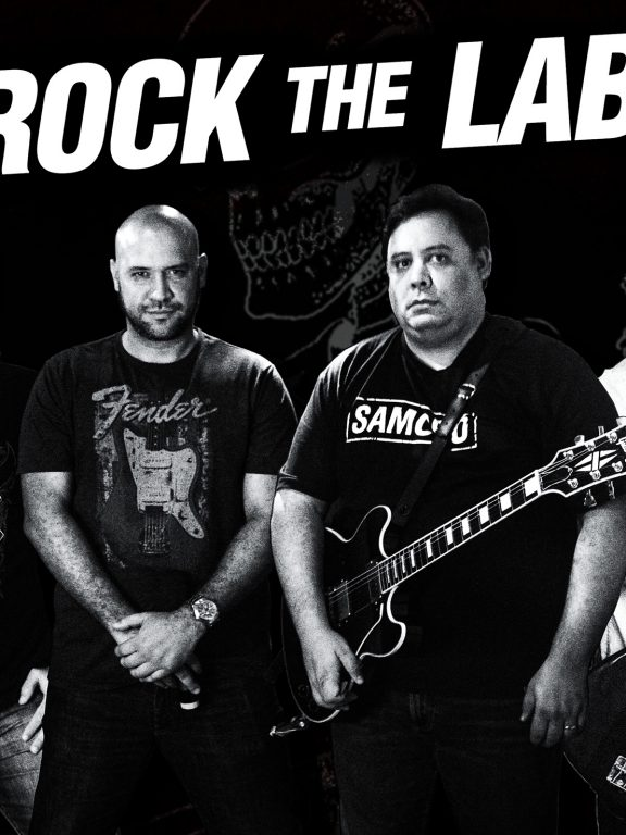Rock the LAB is a Band Formed Through International Collaboration, Family and Friendship
