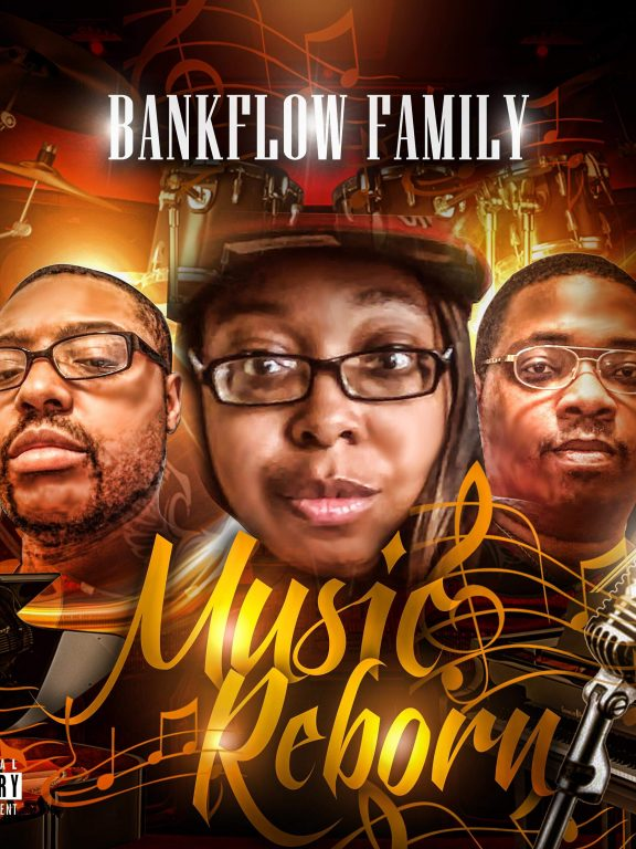 Inspirational Blends of Old-School and New-School Hip Hop: Rising Band BankFlow Family Unveils New Album