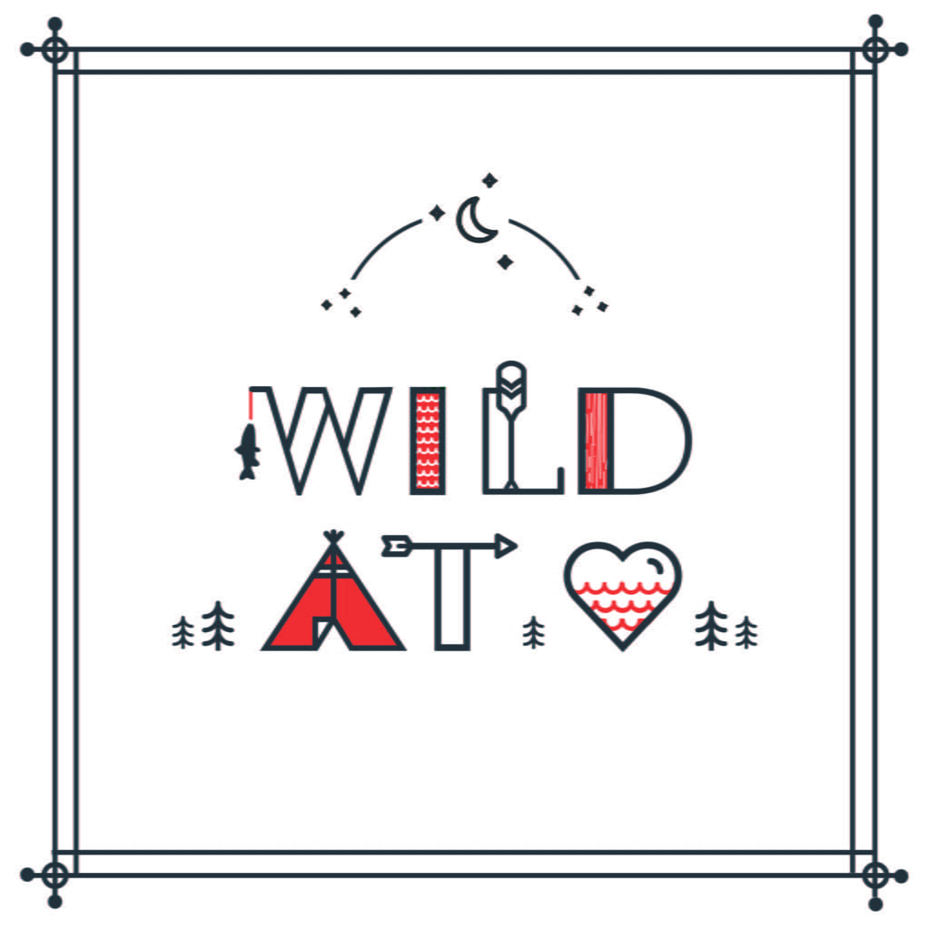 Our free Wild at Heart print is the perfect decor for little campers and nature lovers and looks so cute in a playroom or nursery! | via barley & birch