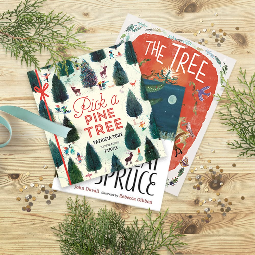 A collection of our favorite picture books about Christmas Trees | via barley & birch