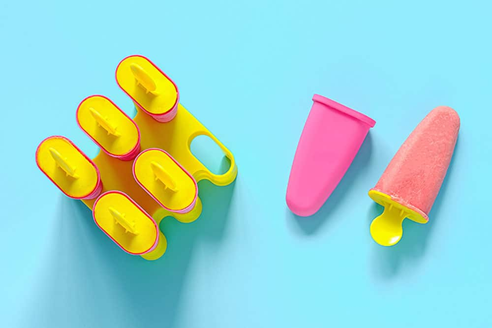 Suggestions for DIY popsicle molds for kids