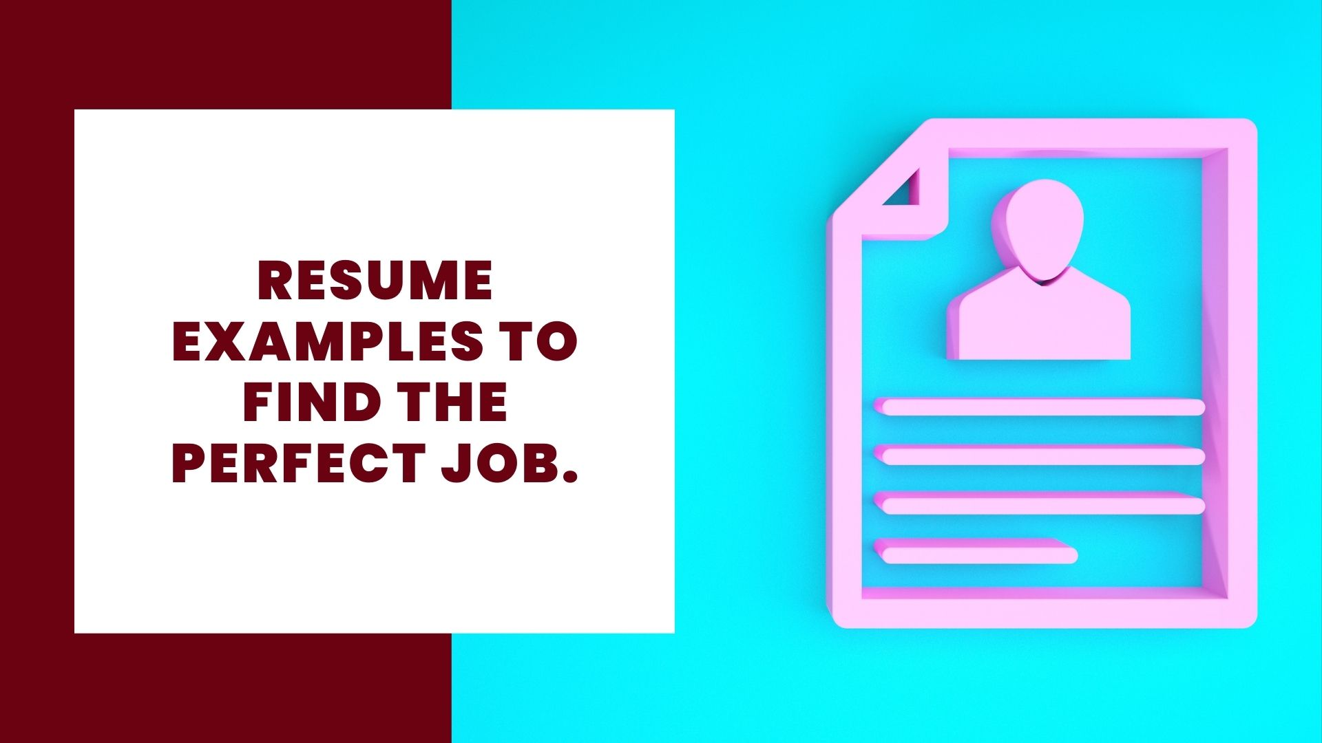 Find resume or job standard format for thesis paper
