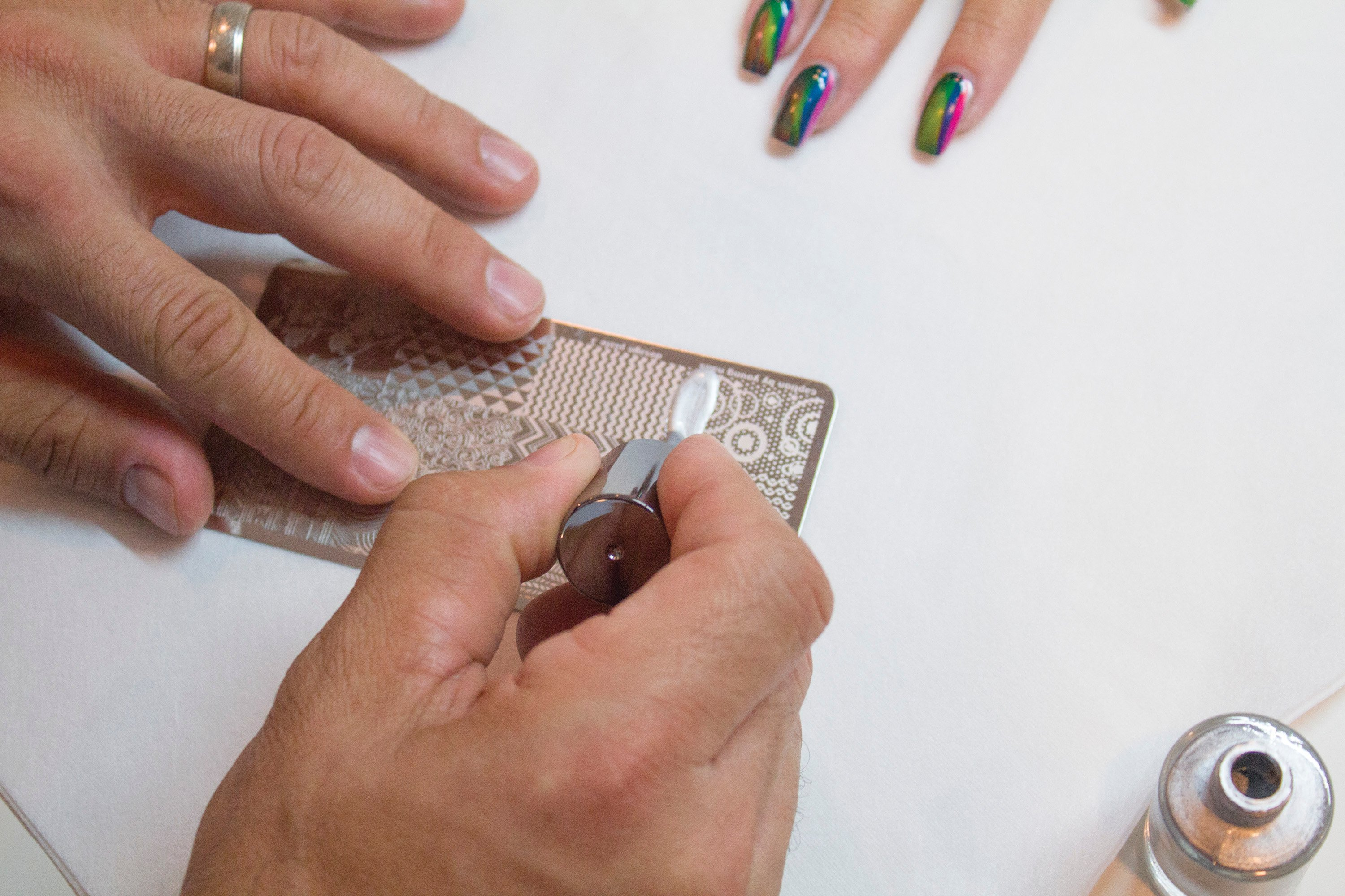 Young Nails Caption Stamping Plates 1