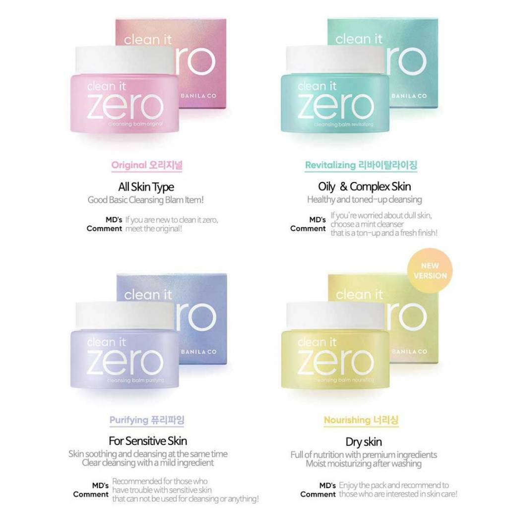 About Clean it Zero Cleansing Balm 100ml