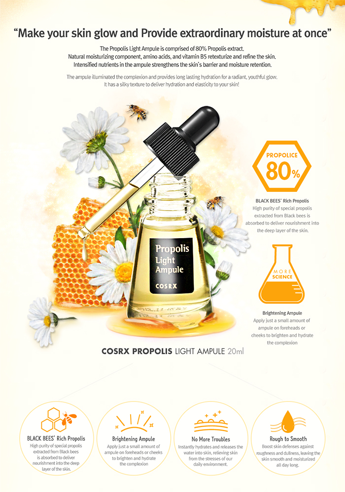 Description About Propolis Light Ampule 20ml