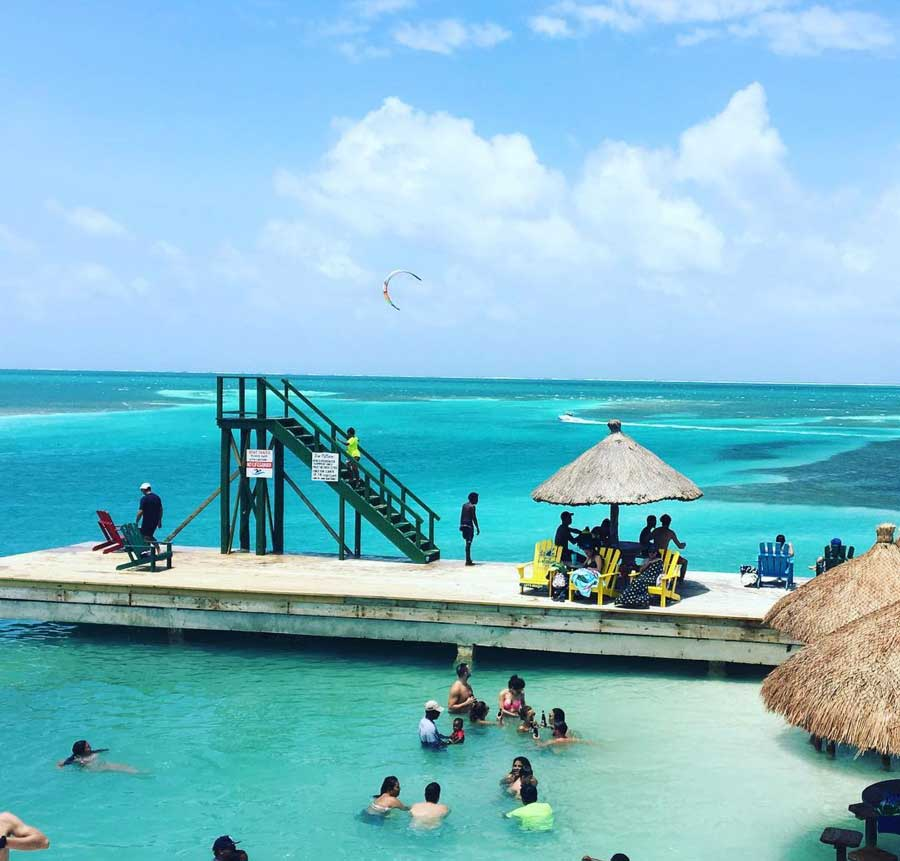 Pictures of Belize beaches caye caulker reef
