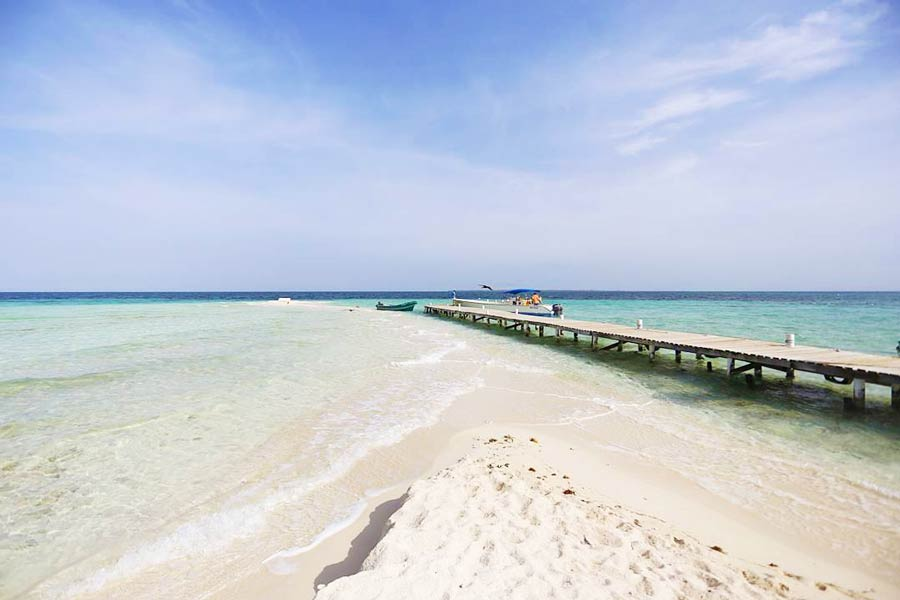 Pictures of Belize southern beaches 2