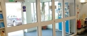 Automatic Balanced Doors