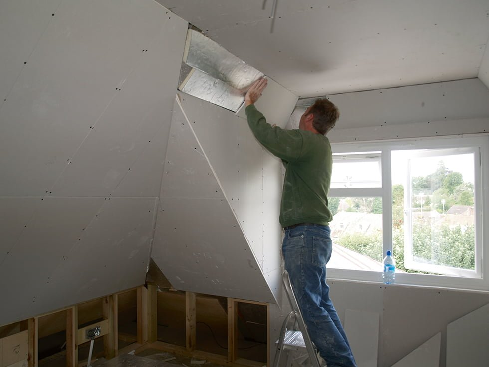 Walls are plasterboarded and architrave/skirting fitted