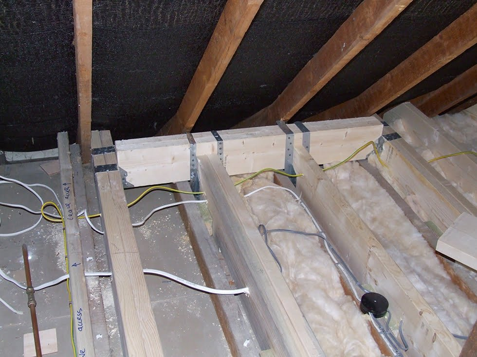 New floor joists fitted