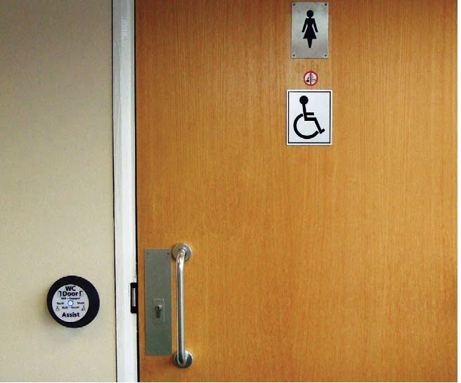 Automatic Washroom Doors