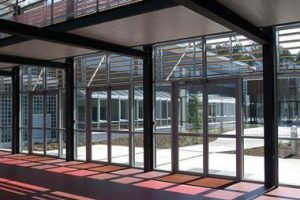 Automatic doors for wheelchairs