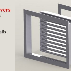 Wide Variety of Door Vents and Louvered Doors