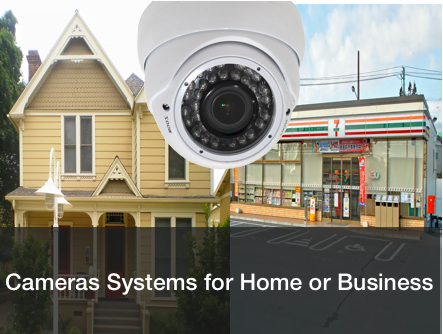 Security camera systems for home or business
