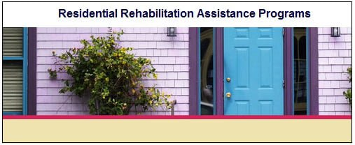 Residential Rehabilitation Assistance Programs
